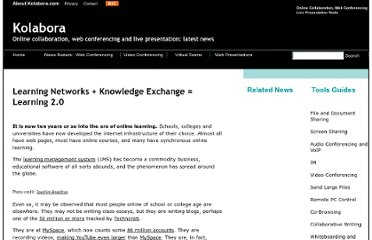 http://www.kolabora.com/news/2006/10/20/learning_networks_knowledge_exchange.htm