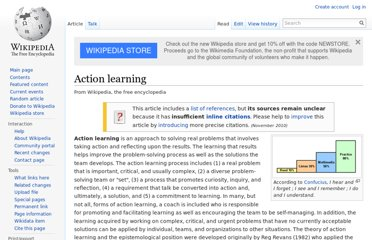 http://en.wikipedia.org/wiki/Action_learning