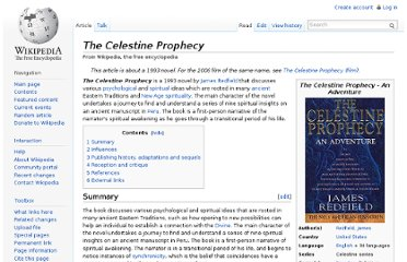 http://en.wikipedia.org/wiki/The_Celestine_Prophecy