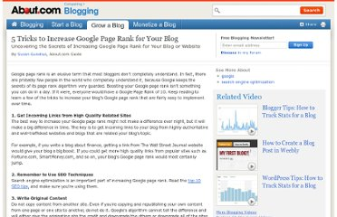 http://weblogs.about.com/od/searchengineoptimization/tp/HowIncreaseGooglePageRank.htm