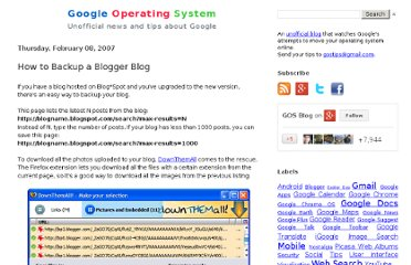 http://googlesystem.blogspot.com/2007/02/how-to-backup-blogger-blog.html