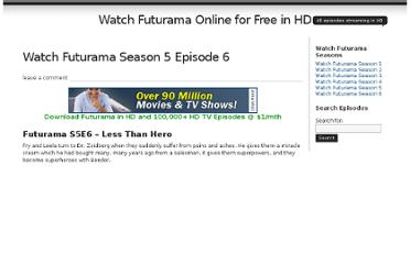 http://www.watch-futurama.net/watch-futurama-season-5-episode-6-less-than-hero/