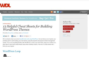 http://webdesignledger.com/resources/13-helpful-cheat-sheets-for-building-wordpress-themes
