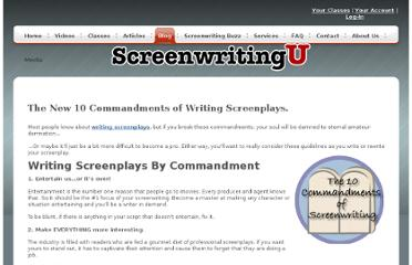 http://www.screenwritingu.com/blog/2010/general-screenwriting/the-new-10-commandments-of-screenwriting-please-rt