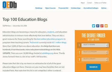 http://oedb.org/library/features/top-100-education-blogs