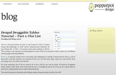 http://www.pepperpotdesign.co.uk/blog/drupal-draggable-tables-tutorial-part-1-flat-list/