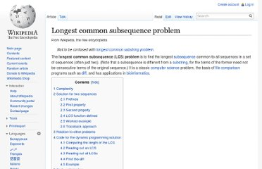 http://en.wikipedia.org/wiki/Longest_common_subsequence_problem