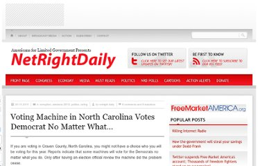 http://netrightdaily.com/2010/10/voting-machine-in-north-carolina-votes-democrat-no-matter-what/