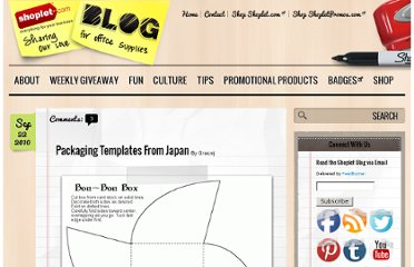 http://blog.shoplet.com/office-supplies/packaging-templates-from-japan/