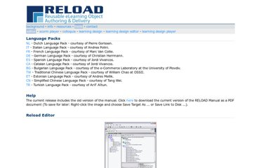 http://www.reload.ac.uk/editor.html