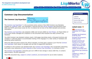 http://www.lispworks.com/documentation/common-lisp.html