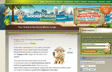 http://www.socialmediaexaminer.com/engage-or-die-the-future-of-social-media/
