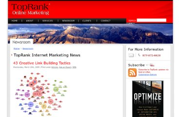 http://www.toprankmarketing.com/newsroom/what-are-some-creative-ways-to-build-links/