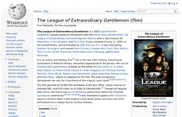 http://en.wikipedia.org/wiki/The_League_of_Extraordinary_Gentlemen_(film)