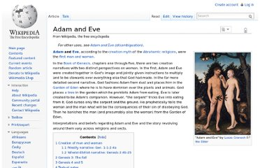http://en.wikipedia.org/wiki/Adam_and_Eve