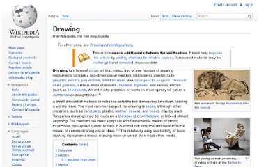 http://en.wikipedia.org/wiki/Drawing