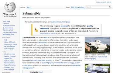 http://en.wikipedia.org/wiki/Submersible