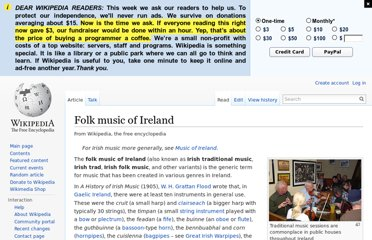 http://en.wikipedia.org/wiki/Folk_music_of_Ireland