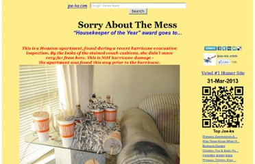 http://www.joe-ks.com/archives_jun2009/SorryAboutTheMess.htm