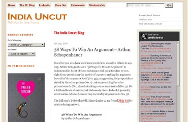 http://indiauncut.com/iublog/article/38-ways-to-win-an-argument-arthur-schopenhauer/