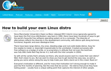 http://www.tuxradar.com/content/how-build-your-own-linux-distro