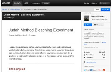 http://www.behance.net/Gallery/Judah-Method-Bleaching-Experemnet/396961