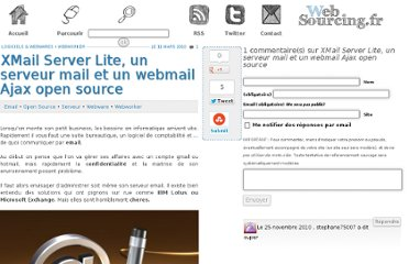 http://blog.websourcing.fr/xmail-server-lite-serveur-mail-webmail-ajax-open-source/