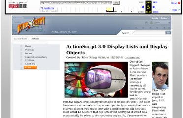 http://web.archive.org/web/20070105055845/http://www.actionscript.com/Article/tabid/54/ArticleID/ActionScript-3-0-Display-Lists-and-Display-Object/Default.aspx