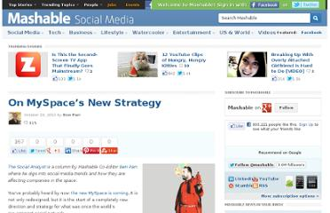 http://mashable.com/2010/10/29/on-myspaces-new-strategy/