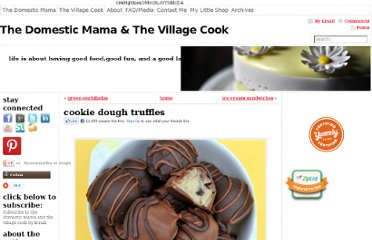 http://thevillagecook.com/cookie-dough-truffles/