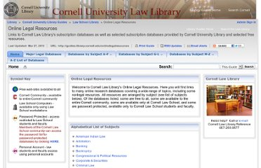 http://library2.lawschool.cornell.edu/esources/default.aspx