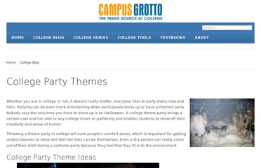 http://www.campusgrotto.com/party-themes.html