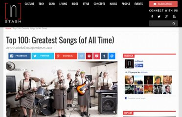 http://www.instash.com/top-100-greatest-songs-of-all-time