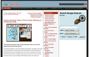 http://www.allgraphicdesign.com/graphicsblog/2008/05/16/online-drawing-tools-free-online-painting-sketching-tools/
