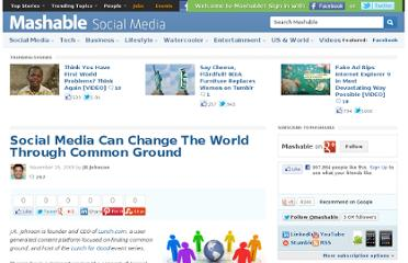 http://mashable.com/2009/11/15/world-changing-social-media/