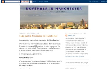 http://novemberinmanchester.blogspot.com/2009/10/take-part-in-november-in-manchester.html