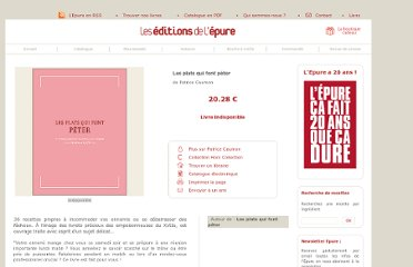 http://www.epure-editions.com/collection-Hors-Collection/Les-plats-qui-font-peter-98-3.html