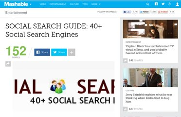 http://mashable.com/2007/08/27/social-search/