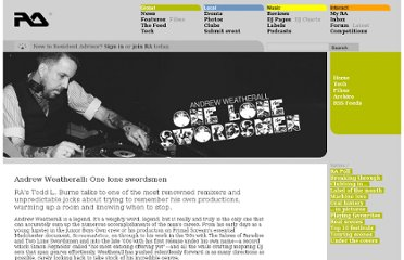 http://www.residentadvisor.net/feature.aspx?1076