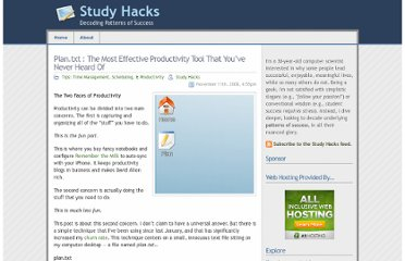 http://calnewport.com/blog/2008/11/11/plantxt-the-most-effective-productivity-tool-that-youve-never-heard-of/
