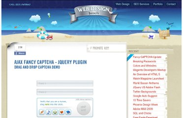 http://www.webdesignbeach.com/beachbar/ajax-fancy-captcha-jquery-plugin
