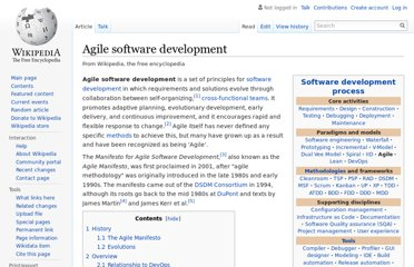 http://en.wikipedia.org/wiki/Agile_software_development