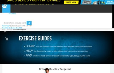 http://www.bodybuilding.com/exercises/