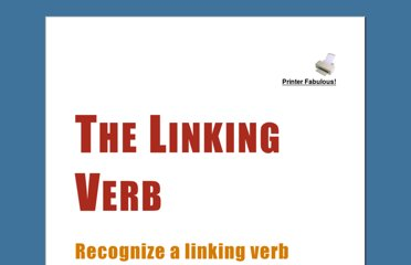 Verb Worksheets Action And Linking Verbs Helping Tenses | Party ...