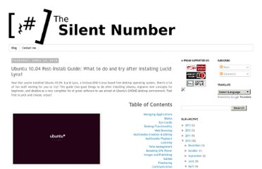 http://blog.thesilentnumber.me/2010/04/ubuntu-1004-post-install-guide-what-to.html