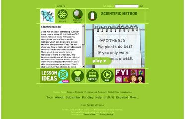 http://www.brainpop.com/science/scientificinquiry/scientificmethod/