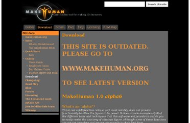 http://sites.google.com/site/makehumandocs/download