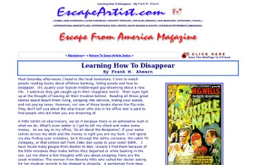 http://www.escapeartist.com/efam/45/Disappearing.html