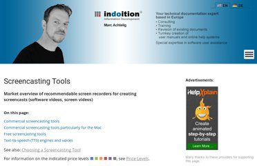 http://www.indoition.com/screencasting-tools-survey.htm