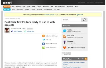 http://woork.blogspot.com/2009/02/best-rich-text-editors-ready-to-use-in.html